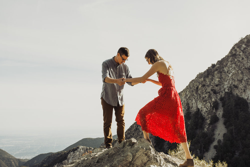 ©Isaiah + Taylor Photography - Los Angeles National Forest Engagement-0039.jpg