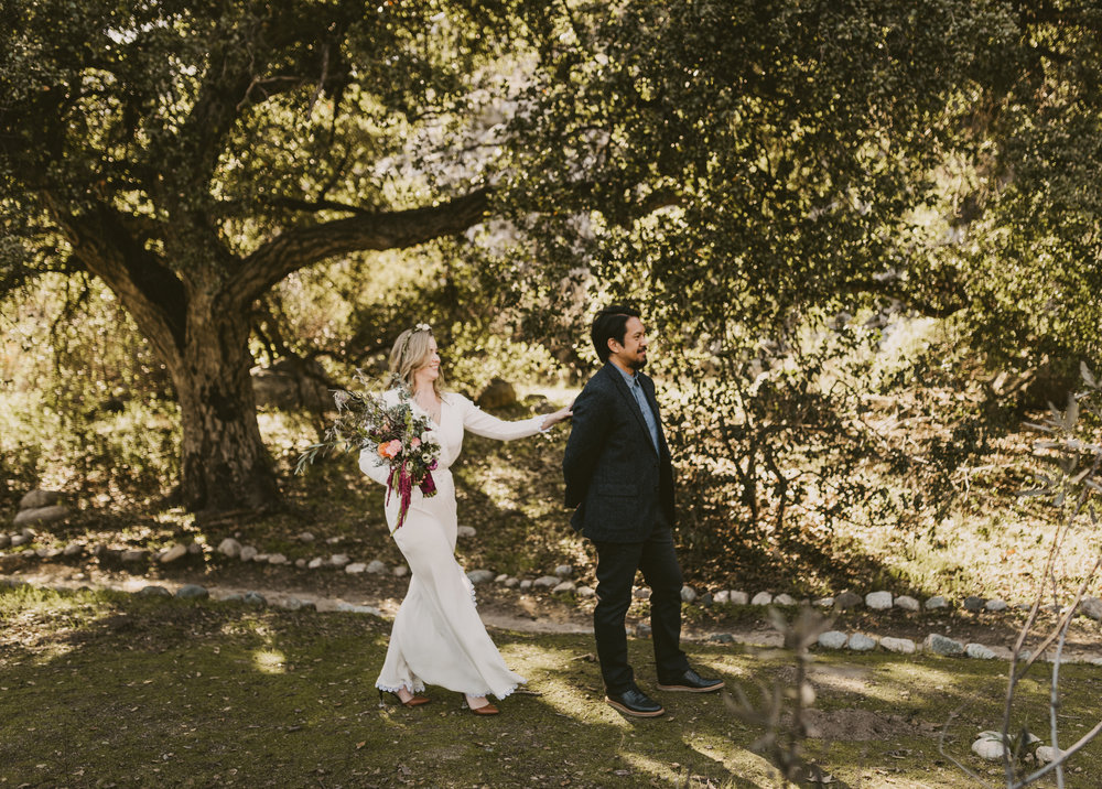 ©Isaiah + Taylor Photography - Intimate Elopement, Eaton Canyon, Los Angeles Wedding Photographer-9.jpg