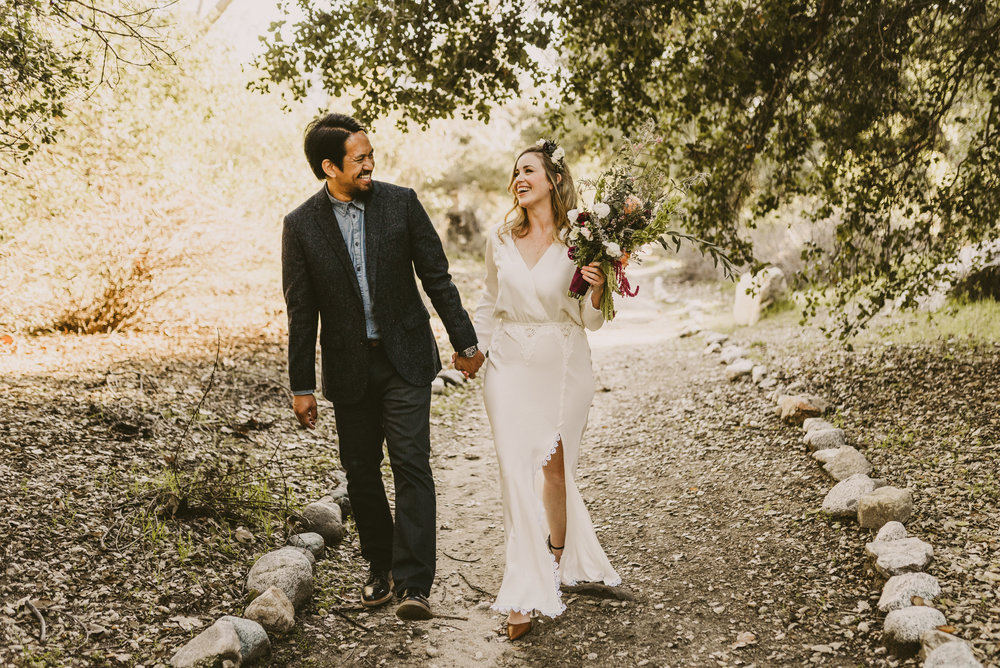 ©Isaiah + Taylor Photography - Intimate Elopement, Eaton Canyon, Los Angeles Wedding Photographer-14.jpg