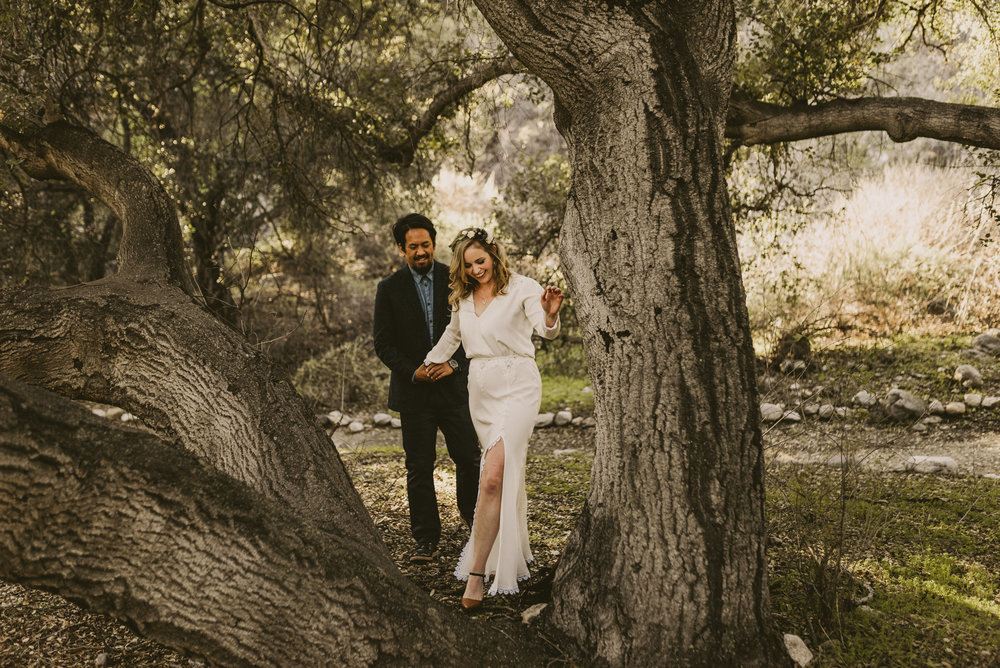 ©Isaiah + Taylor Photography - Intimate Elopement, Eaton Canyon, Los Angeles Wedding Photographer-21.jpg