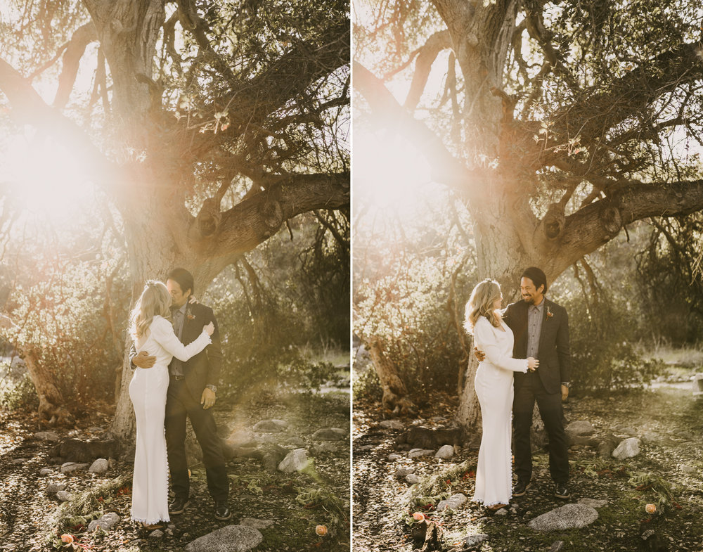 ©Isaiah + Taylor Photography - Intimate Elopement, Eaton Canyon, Los Angeles Wedding Photographer-37.jpg