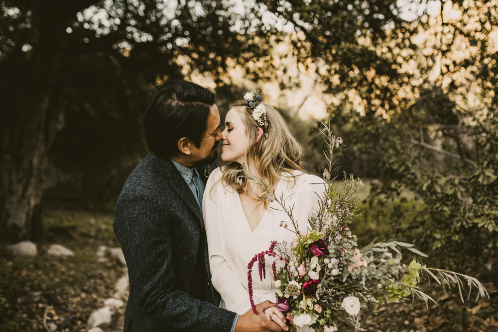 ©Isaiah + Taylor Photography - Intimate Elopement, Eaton Canyon, Los Angeles Wedding Photographer-55.jpg