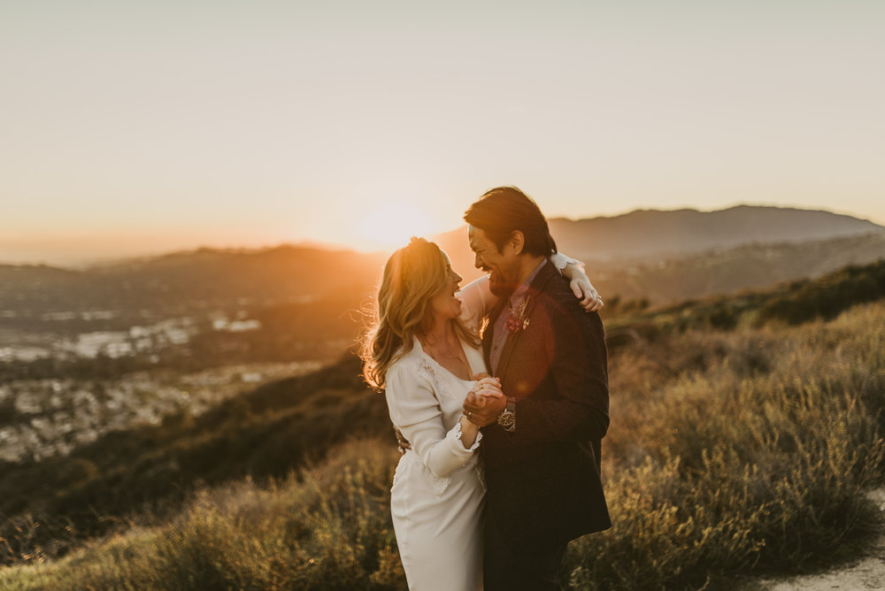 ©Isaiah + Taylor Photography - Intimate Elopement, Eaton Canyon, Los Angeles Wedding Photographer-97.jpg