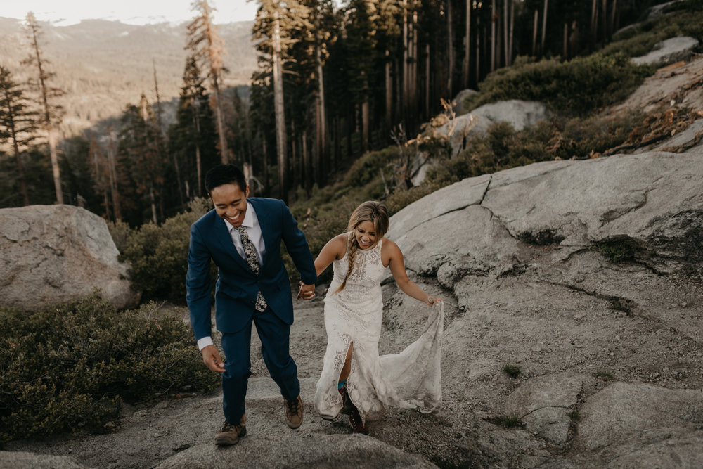 © Isaiah + Taylor Photography - Yosemite Nationanl Park Elopement Photographer - Evergreen Lodge Wedding-026.jpg