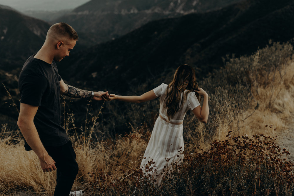 Isaiah + Taylor Photography - Los Angeles Forest Engagement Session - Laid back wedding photographer-017.jpg