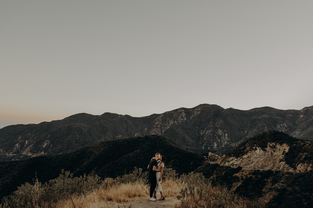 Isaiah + Taylor Photography - Los Angeles Forest Engagement Session - Laid back wedding photographer-022.jpg