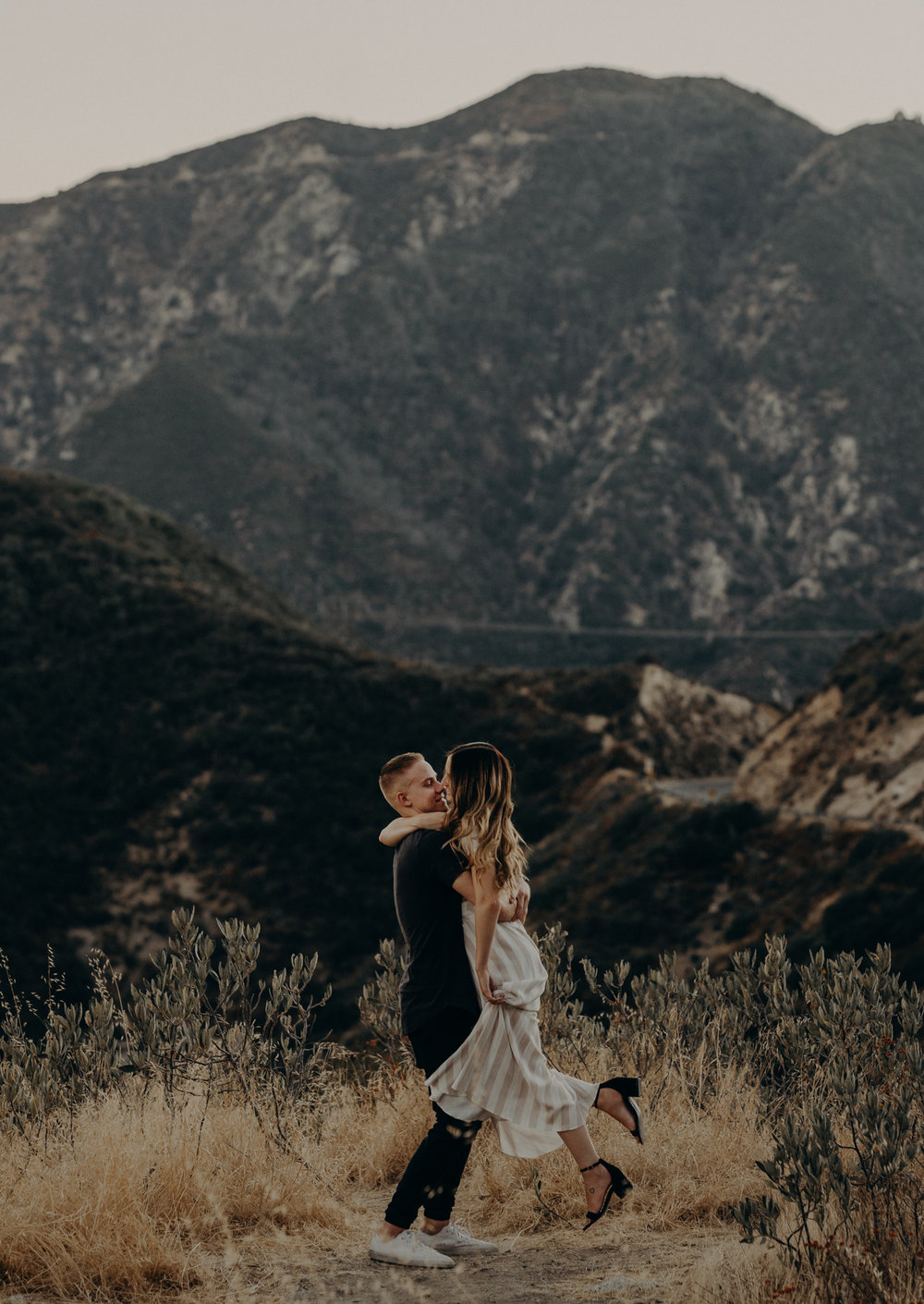 Isaiah + Taylor Photography - Los Angeles Forest Engagement Session - Laid back wedding photographer-021.jpg