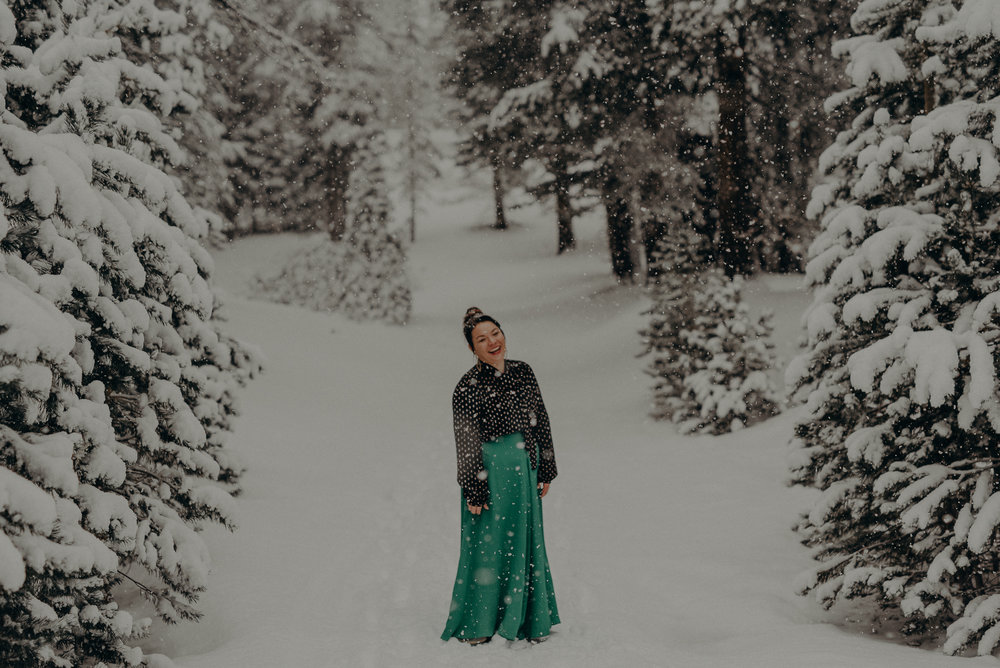 ©Isaiah + Taylor Photography - Los Angeles Wedding Photographer - Snowing engagement session-013.jpg