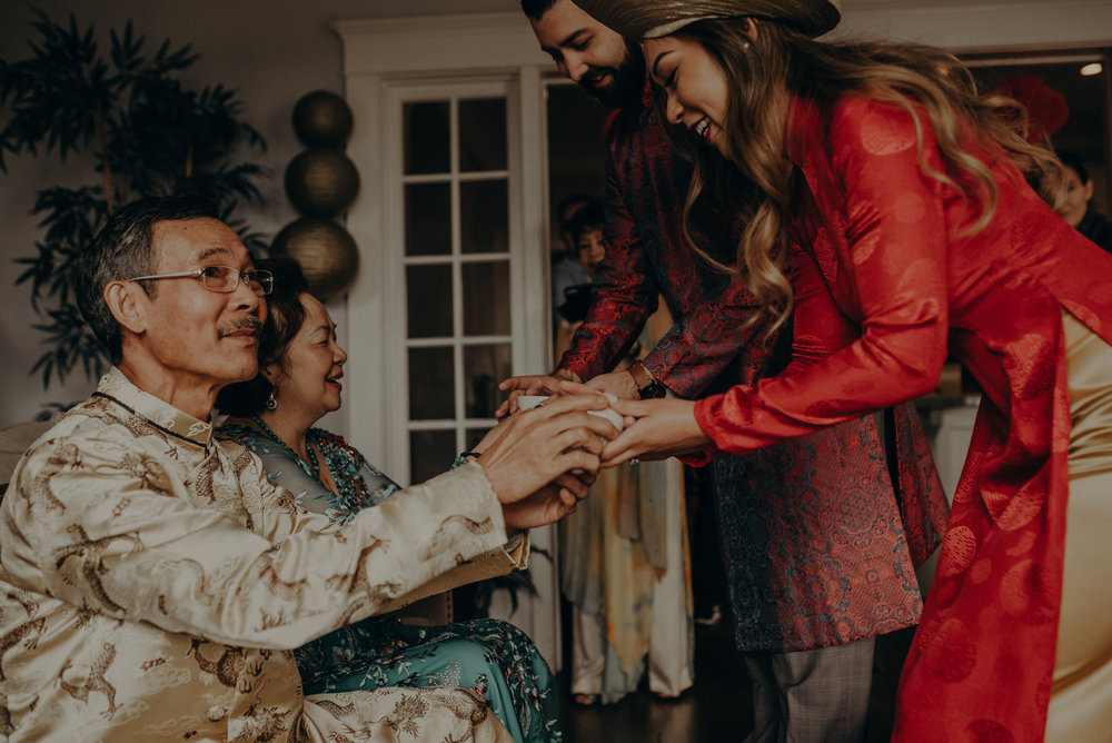 Los Angeles Wedding Photographer - IsaiahAndTaylor.com - The Ebell of Long Beach Wedding - Traditional Vietnamese tea ceremony-063.jpg