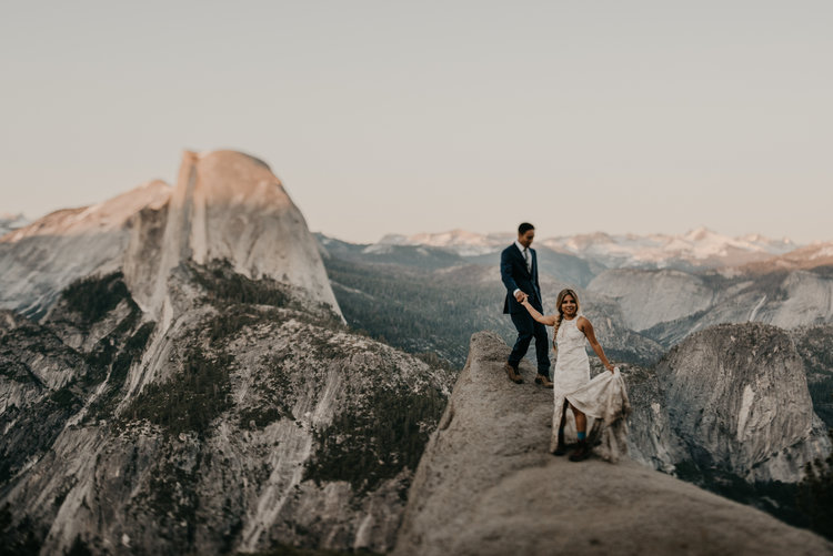 los angeles wedding photographer, long beach wedding photographer, yosemite elopement