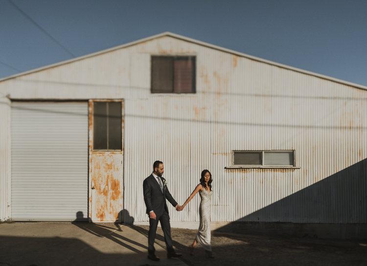 Los Angeles Modern Wedding Photography - Long Beach Elopement - IsaiahAndTaylor.com