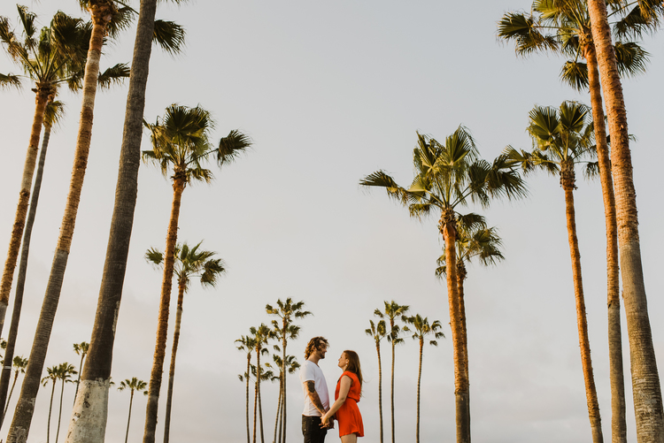Los Angeles Wedding Photographer - Venice Beach Elopement - IsaiahAndTaylor.com