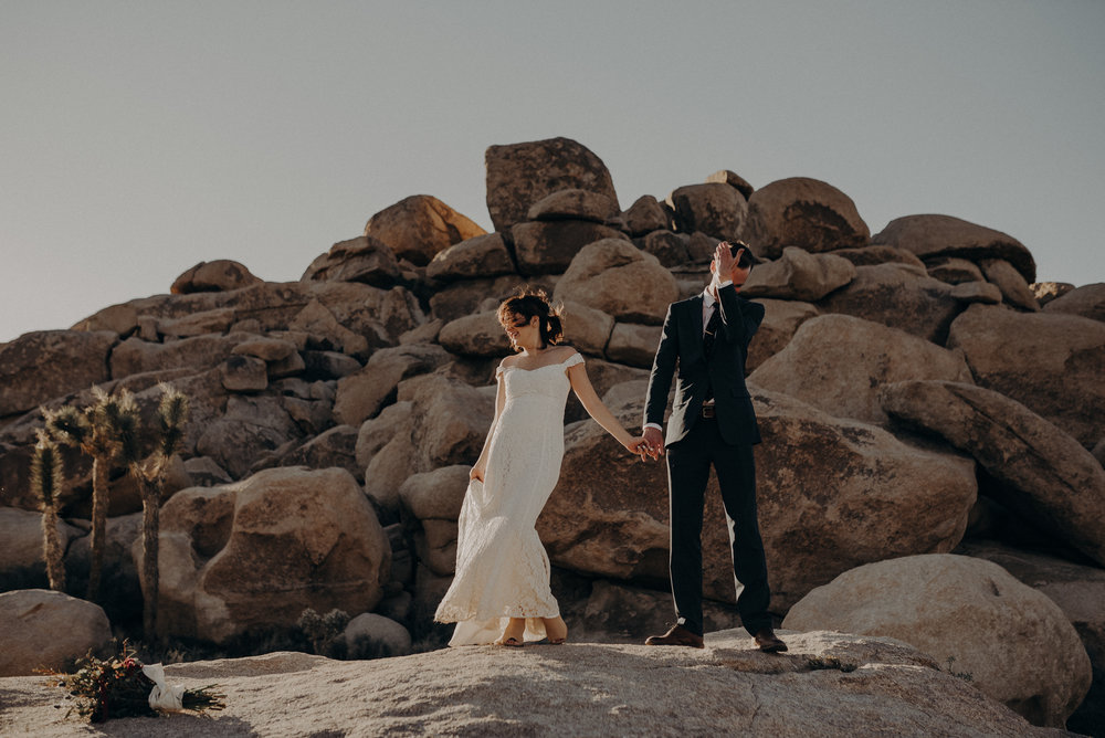 Joshua Tree Elopement - Los Angeles Wedding Photographers - IsaiahAndTaylor.com-080.jpg