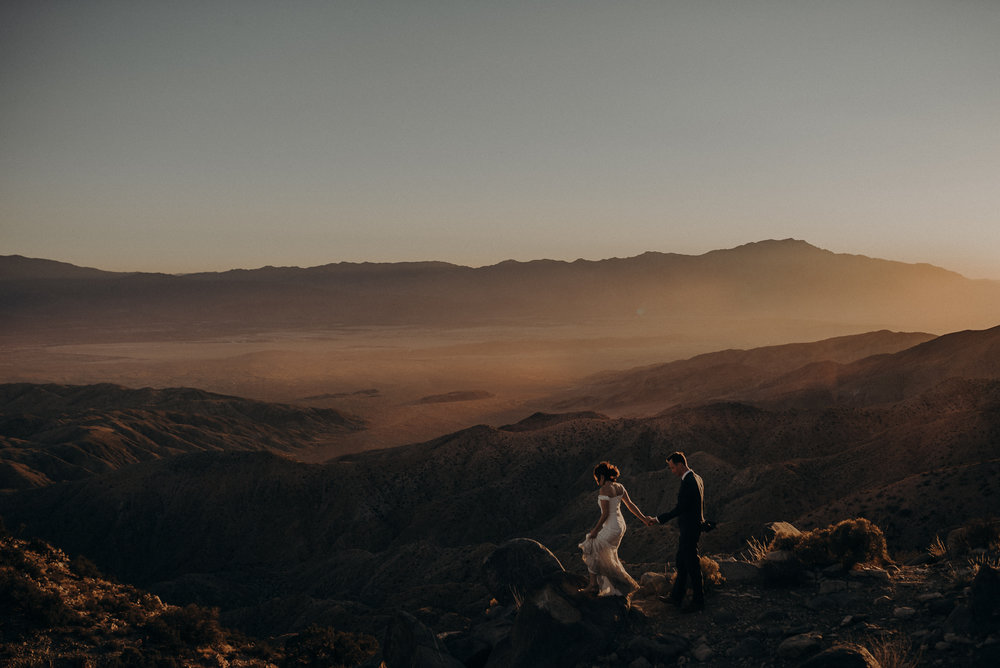 Joshua Tree Elopement - Los Angeles Wedding Photographers - IsaiahAndTaylor.com-096.jpg