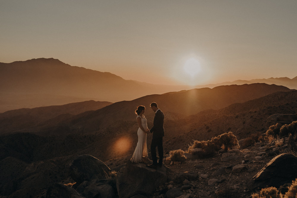 Joshua Tree Elopement - Los Angeles Wedding Photographers - IsaiahAndTaylor.com-099.jpg