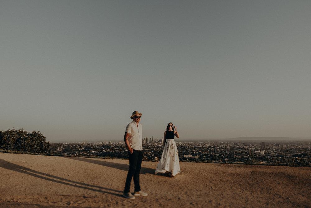 Los Angeles Wedding Photographers - Griffith Park Engagement - IsaiahAndTaylor.com