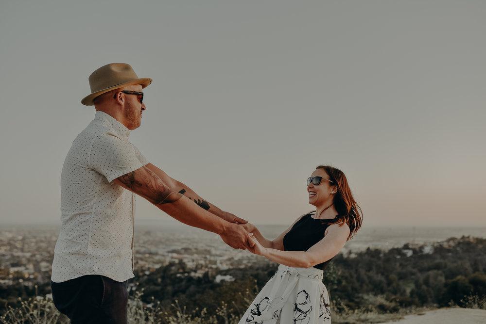 Los Angeles Wedding Photographers - Griffith Park Engagement - IsaiahAndTaylor.com-041.jpg