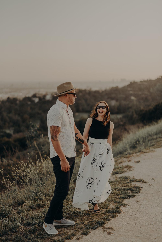 Los Angeles Wedding Photographers - Griffith Park Engagement - IsaiahAndTaylor.com-049.jpg