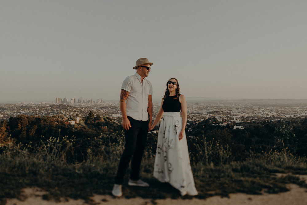 Los Angeles Wedding Photographers - Griffith Park Engagement - IsaiahAndTaylor.com-051.jpg