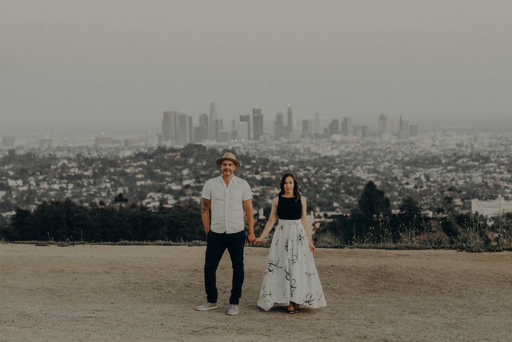 Los Angeles Wedding Photographers - Griffith Park Engagement - IsaiahAndTaylor.com-063.jpg