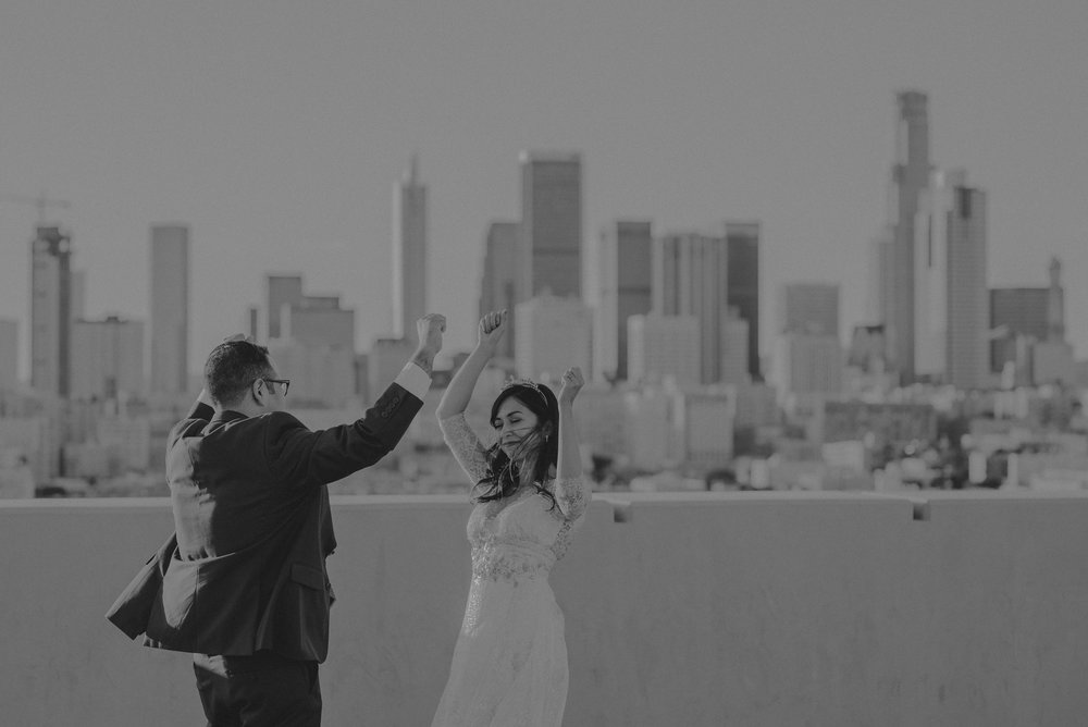 IsaiahAndTaylor.com - Downtown Los Angeles Wedding Photographer - Millwick Wedding - Smog Shoppe-075.jpg
