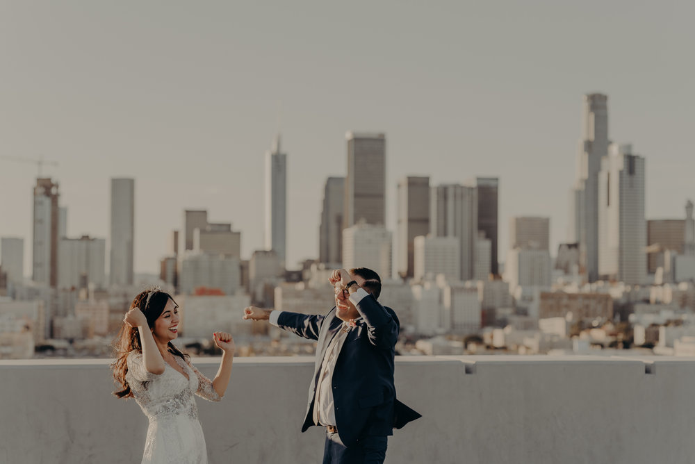IsaiahAndTaylor.com - Downtown Los Angeles Wedding Photographer - Millwick Wedding - Smog Shoppe-076.jpg