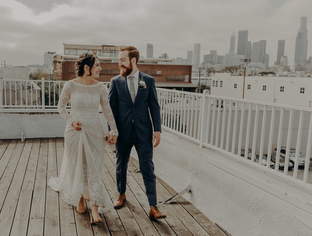 unique space wedding, wedding photographer in Los Angeles