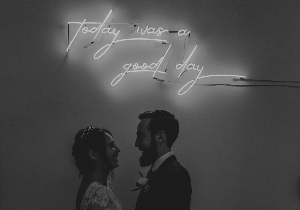 the unique space wedding photography