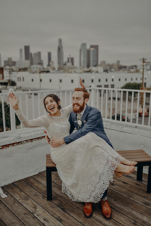 unique space wedding Los Angeles photographer
