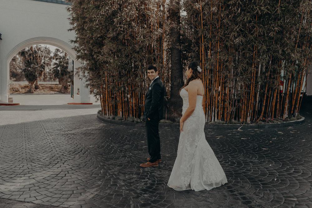 Long Beach Wedding Photographers - Japanese Botanical Garden - Earl Burns Miller - Cal State Long Beach - IsaiahAndTaylor.com-017.jpg