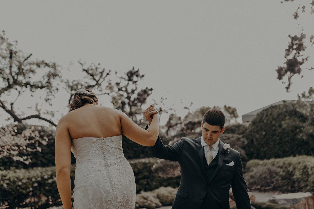 Long Beach Wedding Photographers - Japanese Botanical Garden - Earl Burns Miller - Cal State Long Beach - IsaiahAndTaylor.com-048.jpg