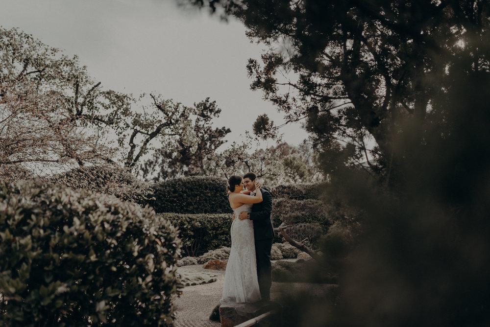 Long Beach Wedding Photographers - Japanese Botanical Garden - Earl Burns Miller - Cal State Long Beach - IsaiahAndTaylor.com-049.jpg