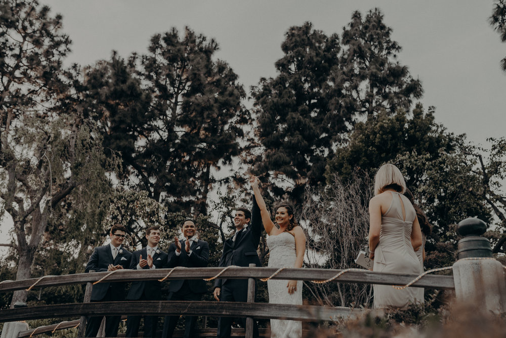 Long Beach Wedding Photographers - Japanese Botanical Garden - Earl Burns Miller - Cal State Long Beach - IsaiahAndTaylor.com-066.jpg
