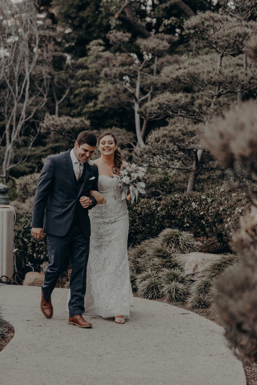 Long Beach Wedding Photographers - Japanese Botanical Garden - Earl Burns Miller - Cal State Long Beach - IsaiahAndTaylor.com-067.jpg