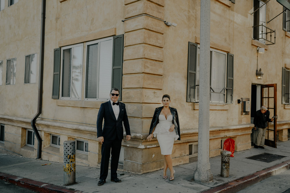 santa Monica elopement, wedding photographer in Los Angeles