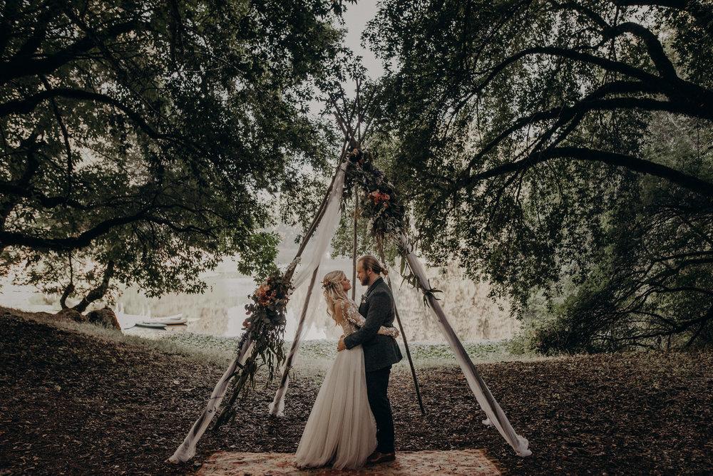 Wedding Photographer in Los Angeles - California Destination Elopement, Lake Leonard Reserve Wedding, Ukiah - long beach wedding photographer