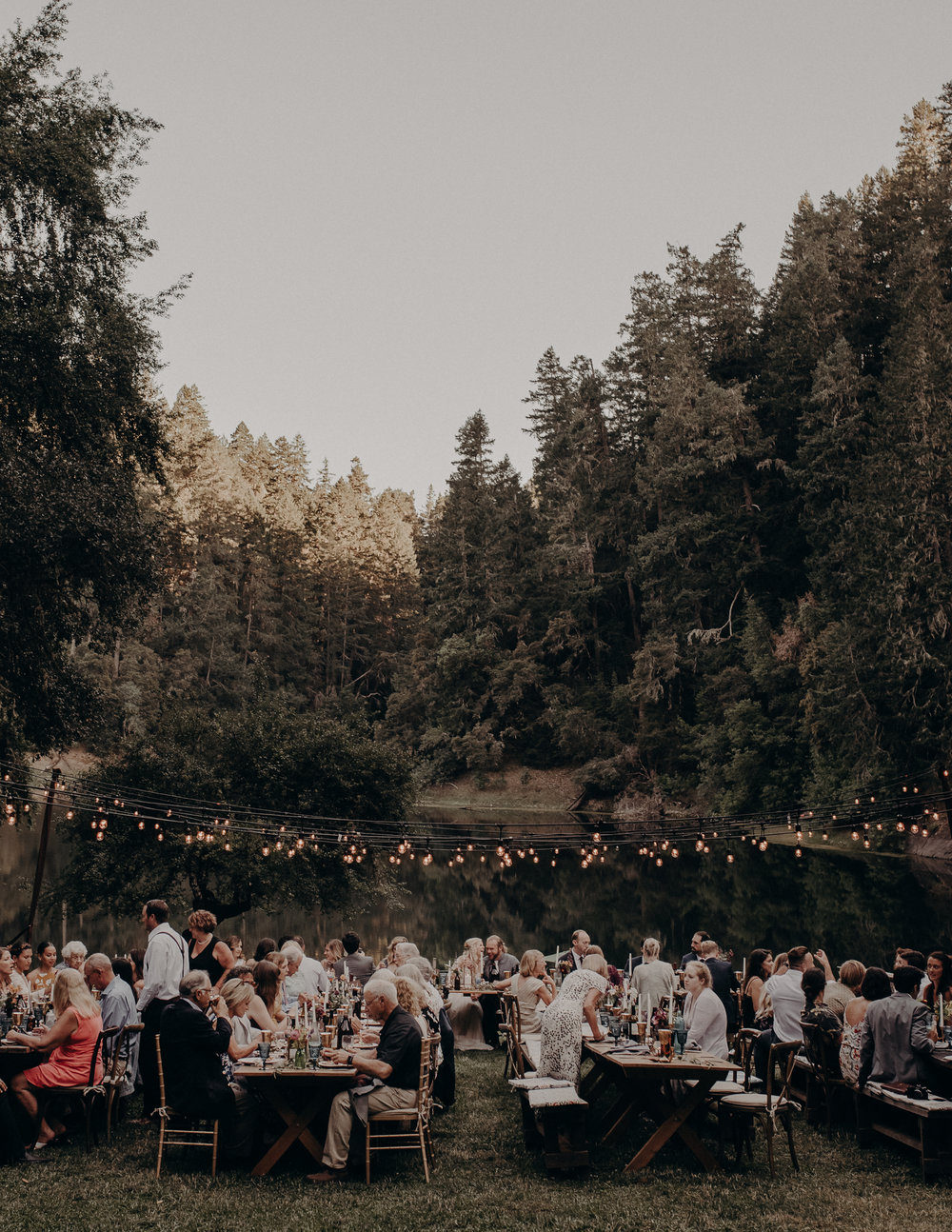 Leonard Lake Wedding, Mendocino Photographer