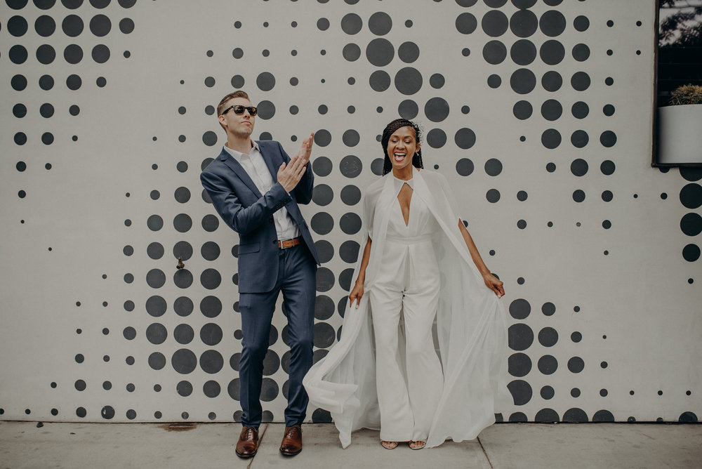 los angeles wedding photographer - long beach wedding photographer - griffith observatory elopement