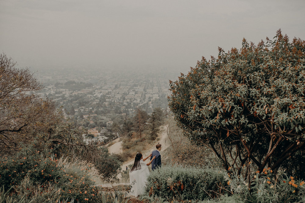 Los Angeles Wedding Photographer - Griffith Observatory Elopement - Long Beach wedding photo - IsaiahAndTaylor.com-020.jpg