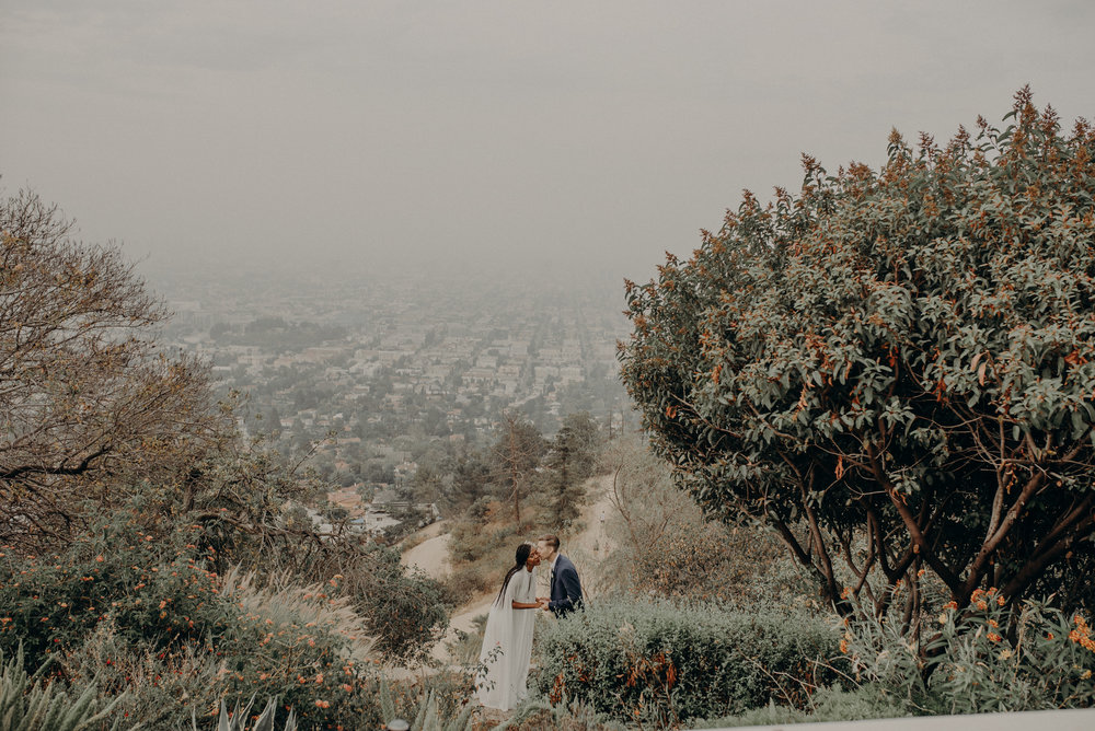 Los Angeles Wedding Photographer - Griffith Observatory Elopement - Long Beach wedding photo - IsaiahAndTaylor.com-021.jpg