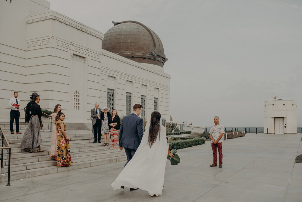 Los Angeles Wedding Photographer - Griffith Observatory Elopement - Long Beach wedding photo - IsaiahAndTaylor.com-022.jpg
