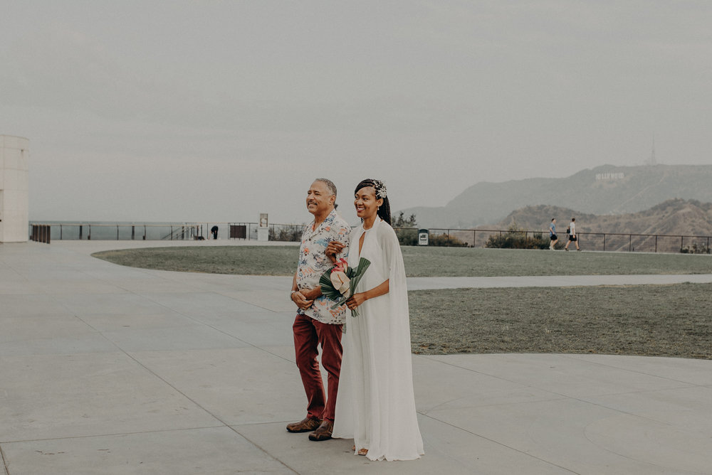 Los Angeles Wedding Photographer - Griffith Observatory Elopement - Long Beach wedding photo - IsaiahAndTaylor.com-023.jpg