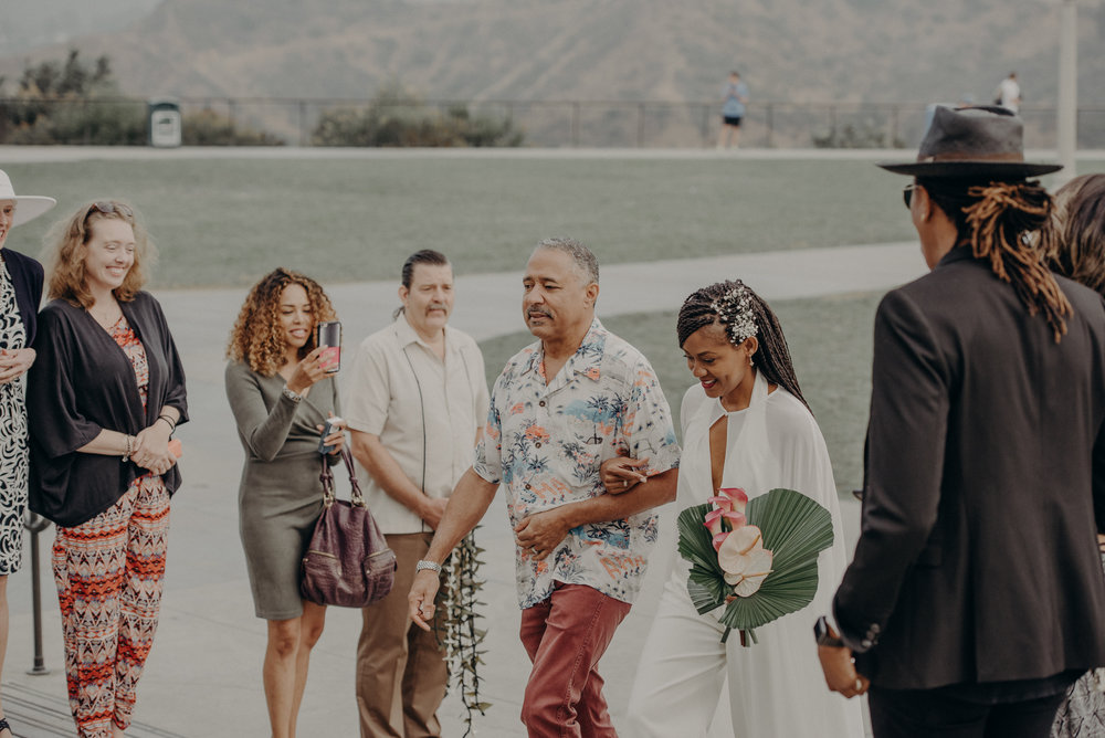 Los Angeles Wedding Photographer - Griffith Observatory Elopement - Long Beach wedding photo - IsaiahAndTaylor.com-026.jpg