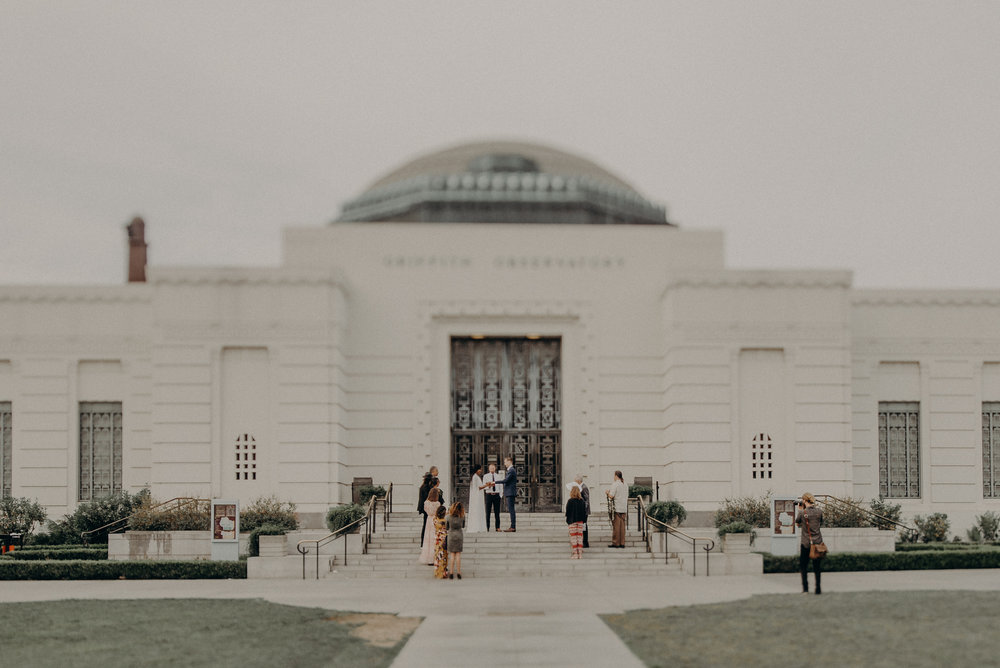 Los Angeles Wedding Photographer - Griffith Observatory Elopement - Long Beach wedding photo - IsaiahAndTaylor.com-028.jpg