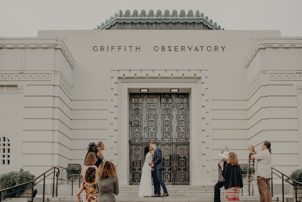 Los Angeles Wedding Photographer - Griffith Observatory Elopement - Long Beach wedding photo - IsaiahAndTaylor.com-030.jpg