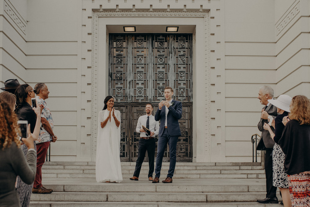 Los Angeles Wedding Photographer - Griffith Observatory Elopement - Long Beach wedding photo - IsaiahAndTaylor.com-032.jpg