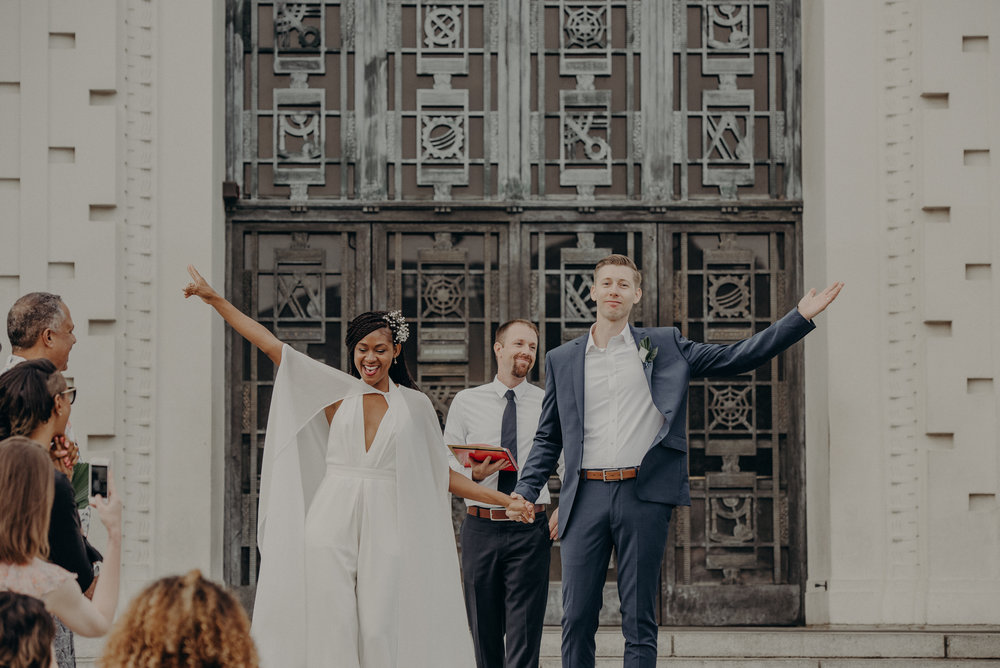 Los Angeles Wedding Photographer - Griffith Observatory Elopement - Long Beach wedding photo - IsaiahAndTaylor.com-033.jpg