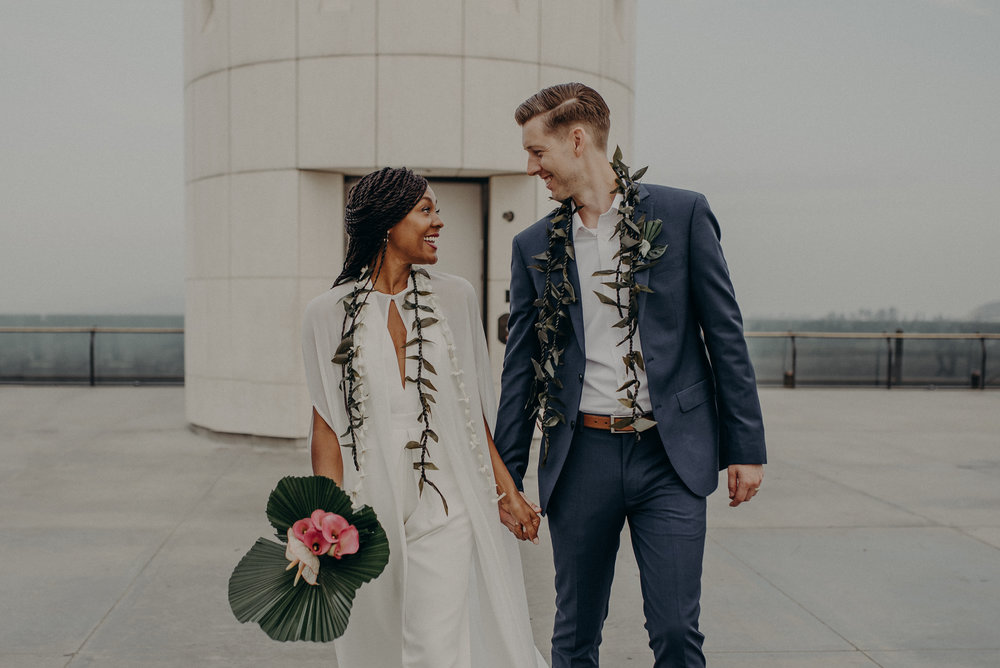 Los Angeles Wedding Photographer - Griffith Observatory Elopement - Long Beach wedding photo - IsaiahAndTaylor.com-041.jpg
