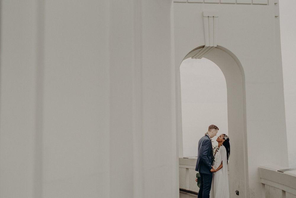 Los Angeles Wedding Photographer - Griffith Observatory Elopement - Long Beach wedding photo - IsaiahAndTaylor.com-042.jpg