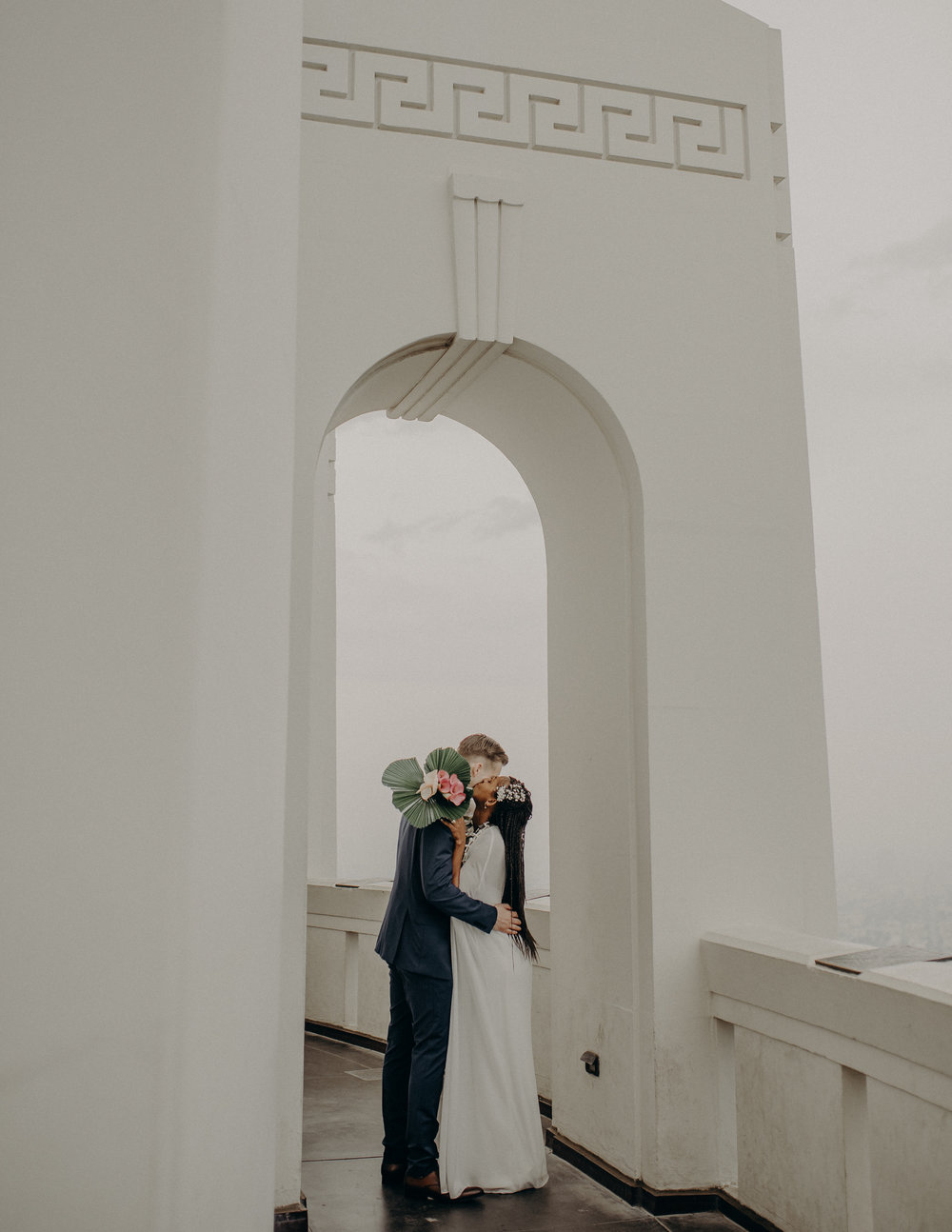 Los Angeles Wedding Photographer - Griffith Observatory Elopement - Long Beach wedding photo - IsaiahAndTaylor.com-043.jpg